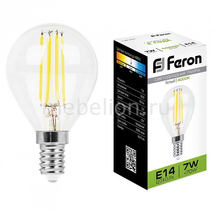 Купить Лампа светодиодная LB-52 E14 7Вт 220В 4000 К 25875, Feron