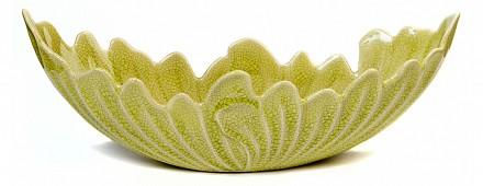 Блюдо декоративное (45х15.5х15.5 см) Капустный лист 45001200