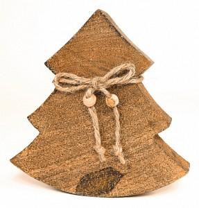 Ель новогодняя (15x2.5x14 см) Wooden Tree en_ny0032