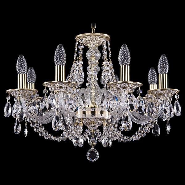 Подвесная люстра 1606/8/195/GW Bohemia Ivele Crystal  (BI_1606_8_195_GW), Чехия
