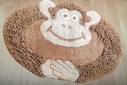 Ковер детский (50х80 см) Обезьянка