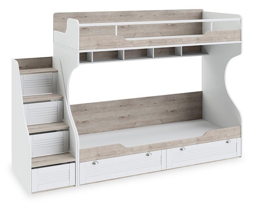 Кровать двухъярусная Ривьера СМ 241.11.12