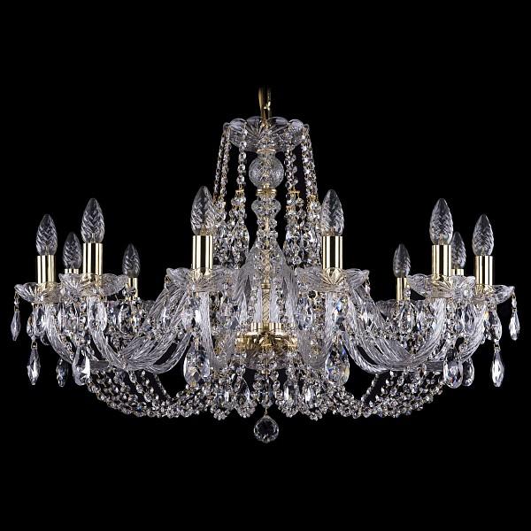 Подвесная люстра 1406/12/300/G Bohemia Ivele Crystal  (BI_1406_12_300_G), Чехия