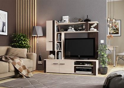 Стенка под ТВ для гостиной Милана MBS_CTV-006_1