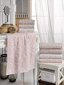 Набор из 4 банных полотенец Erica