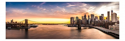 Панно (150х50 см) Манхеттен 179546K50150