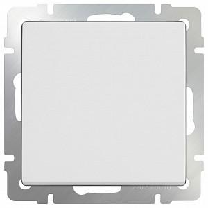 Выключатель проходной одноклавишный без рамки Белый WL01-SW-1G-2W