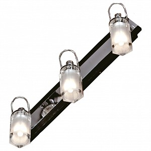 Спот поворотный Abruzzi, 3 лампы G9 по 5 Вт., 6.67 м², цвет белый глянцевый