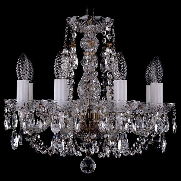 Подвесная люстра 1406/8/141/Pa Bohemia Ivele Crystal  (BI_1406_8_141_Pa), Чехия