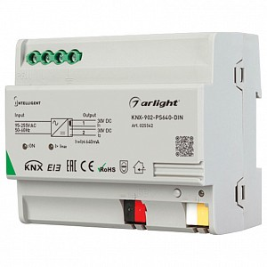 Блок питания Intelligent KNX-902-PS640-DIN (230V, 640mA)