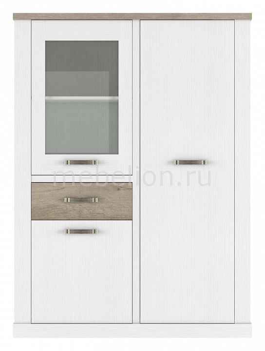 Шкаф-витрина Provans 1V2D1S