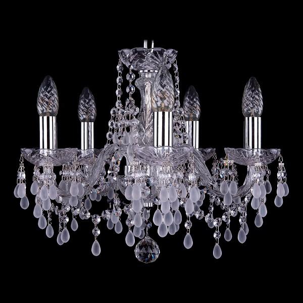 Подвесная люстра 1410/5/141/Ni/V0300 Bohemia Ivele Crystal  (BI_1410_5_141_Ni_V0300), Чехия