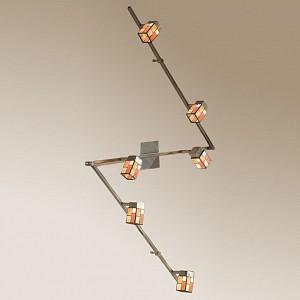 Спот поворотный Латина, 6 лампы G9 по 40 Вт., 13.33 м², цвет разноцветный матовый