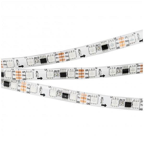 Лента светодиодная [5 м] SPI-5000SE-5060-60 12V Cx3 RGB (10mm, 14.4W/m, IP65) 026366(1) ARLT_026366_1