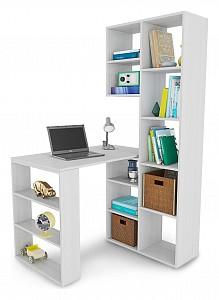 Угловой компьютерный стол Рикс MAS_Riks-25BEL