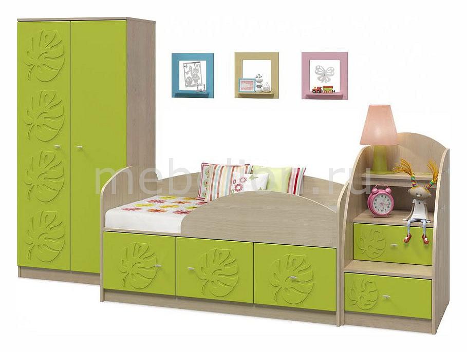Комод детский Компасс-мебель KOM_Maugli_system_4 от Mebelion.ru