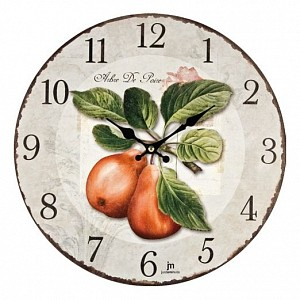 Настенные часы (33.5 см) Lowell 21424