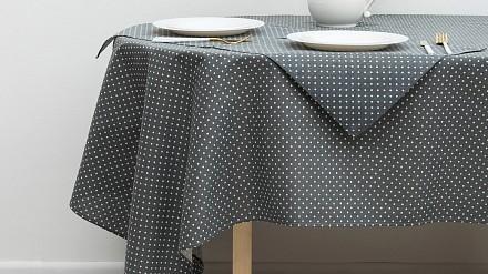 Скатерь с салфетками (145x200 см) Горох