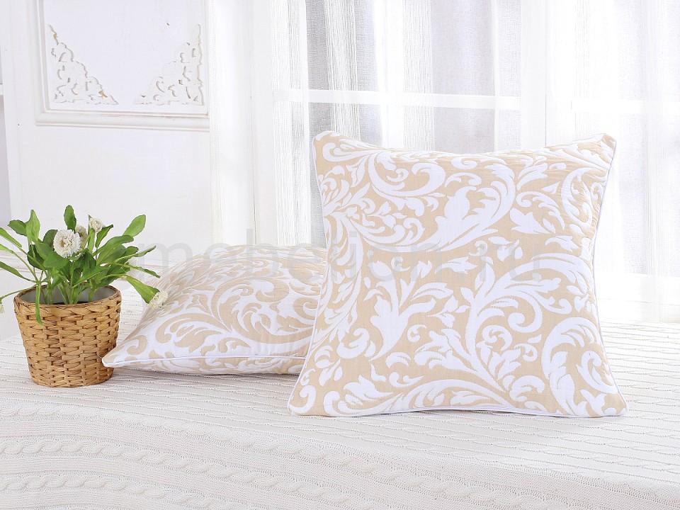 Наволочка для декоративных подушек CLEO CLE_45_003_4-BR от Mebelion.ru