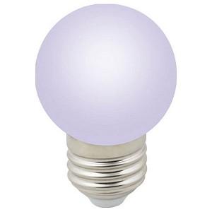 Лампа светодиодная Sky E27 220-240В 1Вт RGB LED-G45-1W/RGB/E27/FR/С