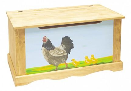 Сундук Курица с цыплятами