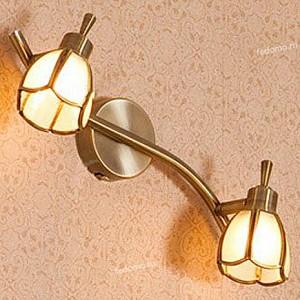 Спот поворотный Альтен, 2 лампы G9 по 40 Вт., 4.44 м², цвет молочный сатин