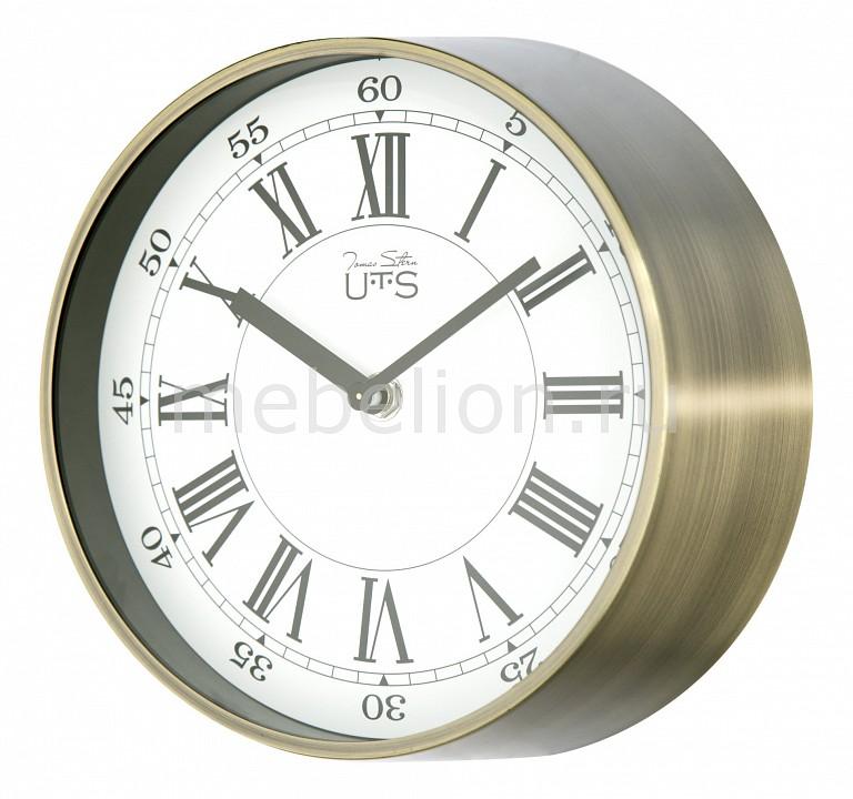 Фото - Настенные часы Tomas Stern (20 см) 4015AG cветильник галогенный de fran встраиваемый 1х50вт mr16 ip20 зел античное золото