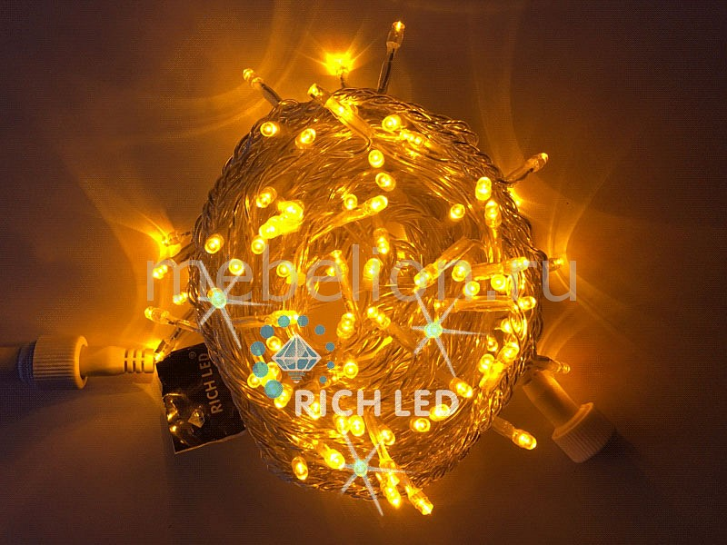 Электрогирлянда RichLED RL_RL-S10CF-24V-T_Y от Mebelion.ru