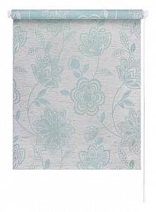 Рулонная штора Флоренс 98x175 см., цвет мятный лён