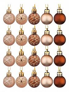 Набор из 20 елочных шаров (3 см) ART 858-109