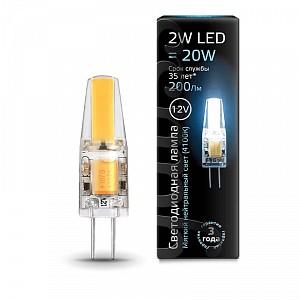 Лампа светодиодная 2077 G4 12В 2Вт 4100K 207707202