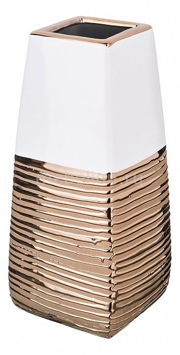 Ваза настольная АРТИ-М (11.5x11.5x25.5 см) Золотая коллекция 699-136