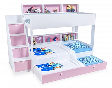 Кровать трехъярусная Golden Kids 10