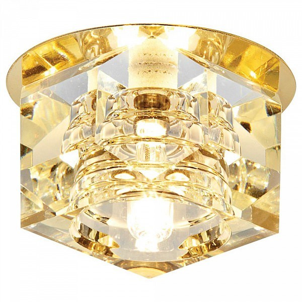 Встраиваемый светильник Dising D605 CL/G Ambrella AMBR_D605_CL_G