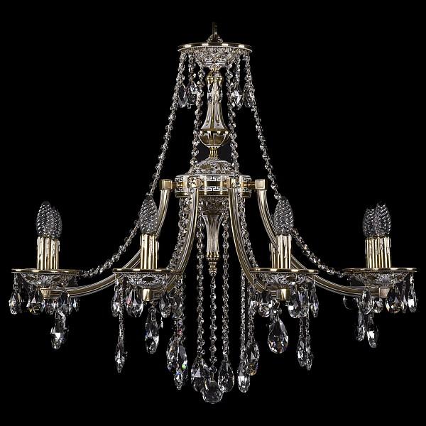 Подвесная люстра 1771/8/270/B/GW Bohemia Ivele Crystal  (BI_1771_8_270_B_GW), Чехия