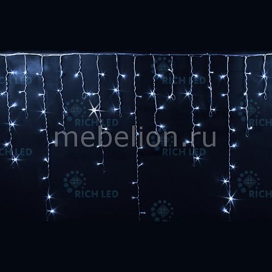 Светодиодная бахрома RichLED RL_RL-i3_0.9F-CW_W от Mebelion.ru