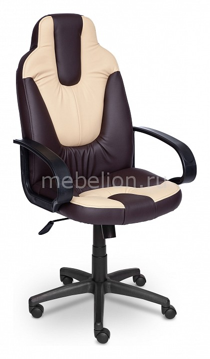 Игровое кресло Tetchair TET_neo1_brown_beige от Mebelion.ru