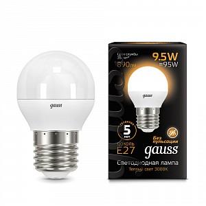 Лампа светодиодная 1051 E27 150-265В 9.5Вт 3000K 105102110