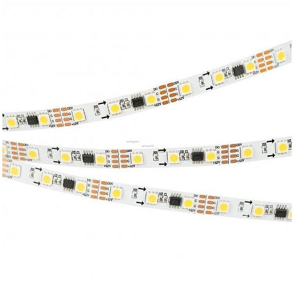 Лента светодиодная [5 м] SPI-5000-5060-60 12V Cx3 Warm3000-Auto (10mm, 13.2W, IP20) 027169(1) ARLT_027169_1