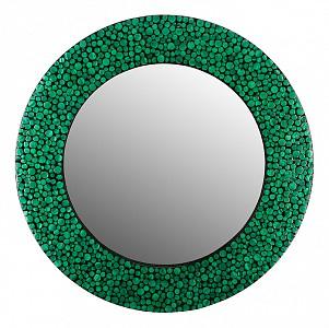 Зеркало настенное (80х2.5 см) Малахитовые кольца VP-05
