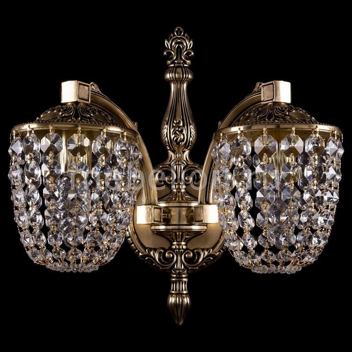 Купить Бра 1872/2/150/GB, Bohemia Ivele Crystal