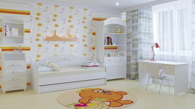 Комод детский Компасс-мебель KOM_Sonya_premium_childrens_room от Mebelion.ru
