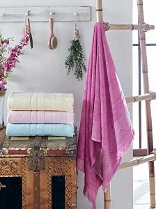 Набор из 4 банных полотенец (70x140 см) Lavender