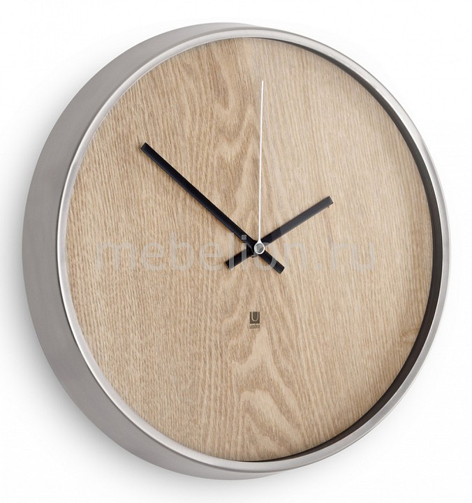 Настенные часы Umbra (32 см) Madera 118413-392 цена
