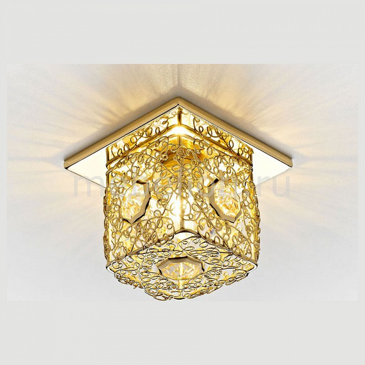 Встраиваемый светильник Ambrella AMBR_D1003_G_CL от Mebelion.ru