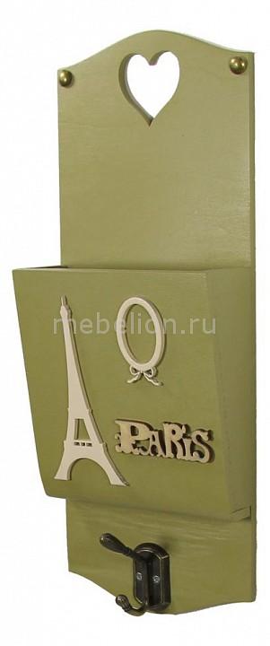 Ключница Акита (15х38 см) AKI N-88 ключница акита 23х33 см бабочка aki 7364