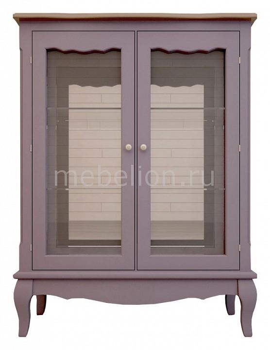 Тумба-витрина Leontina lavanda