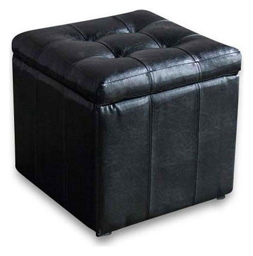 Пуф-сундук Модерна черная
