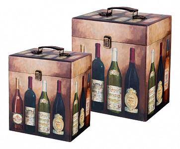 Набор из 2 шкатулок для украшений Винотека 706-273