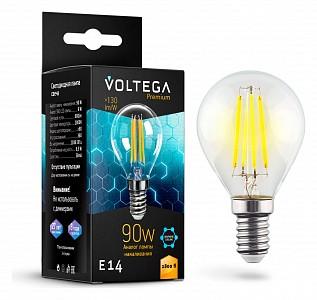 Лампа светодиодная [LED] Voltega E14 7W 2800K